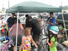 Community Members Gather For Bike Inspections