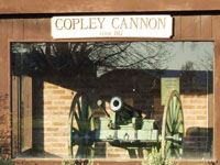 Copley Cannon on Display