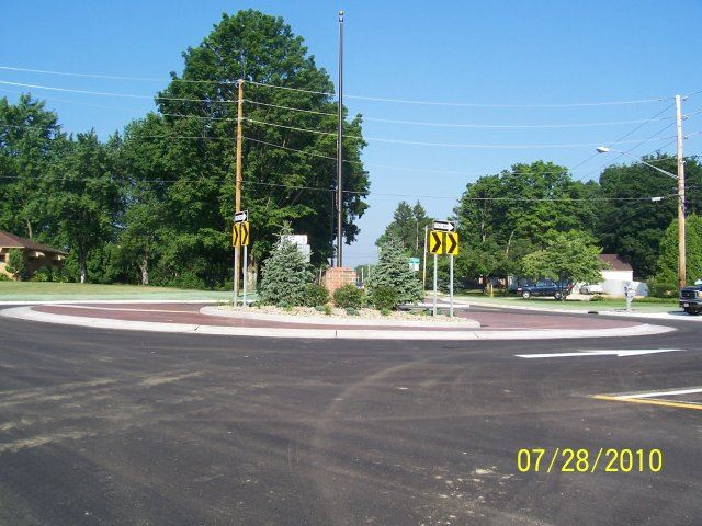 Ridgewood and Jacoby Road Roundabout (6)