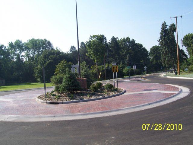 Ridgewood and Jacoby Road Roundabout (7)