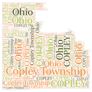 Copley Wordle Map
