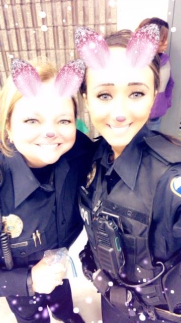 Officer Shendy with another Officer
