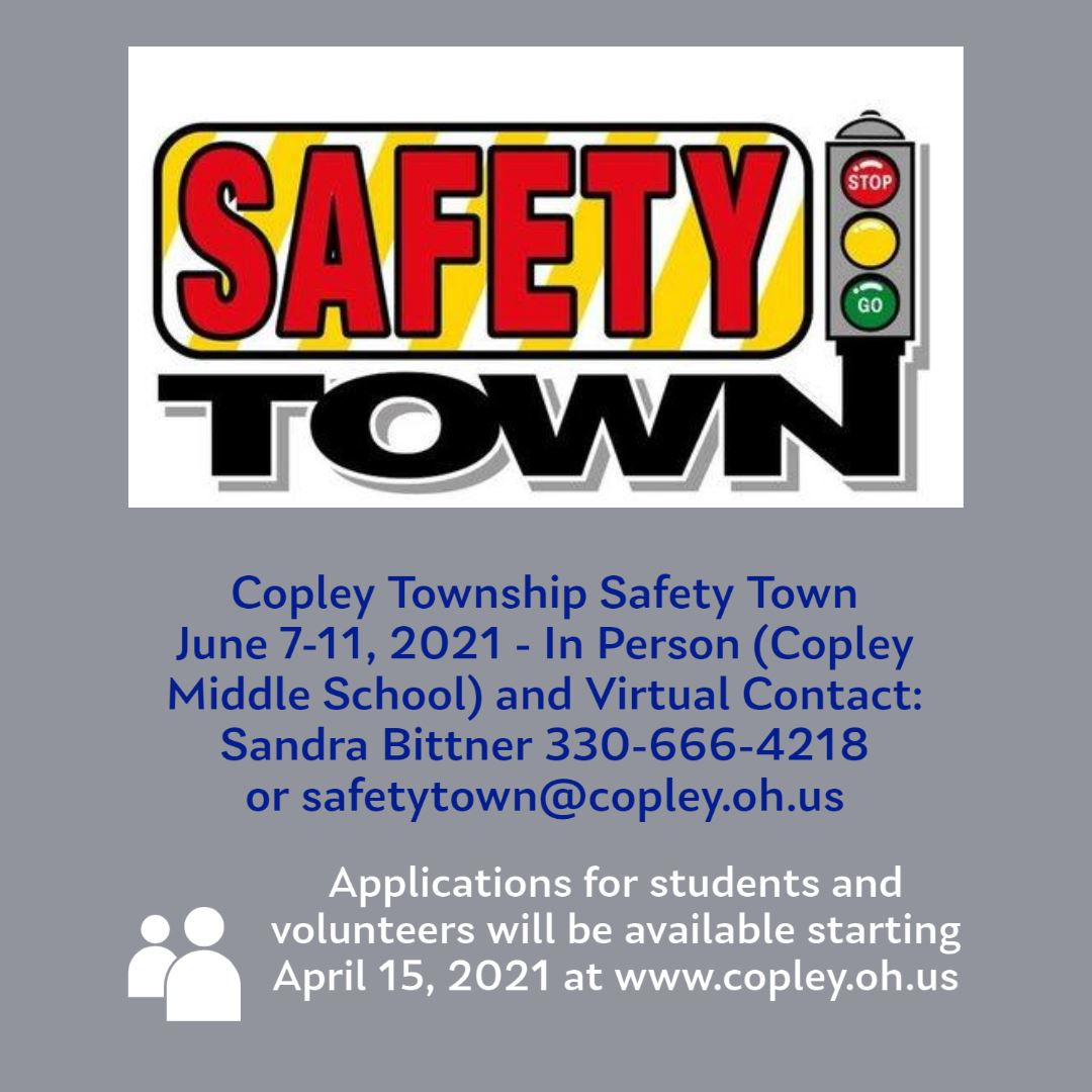Safety Town Flyer Updated