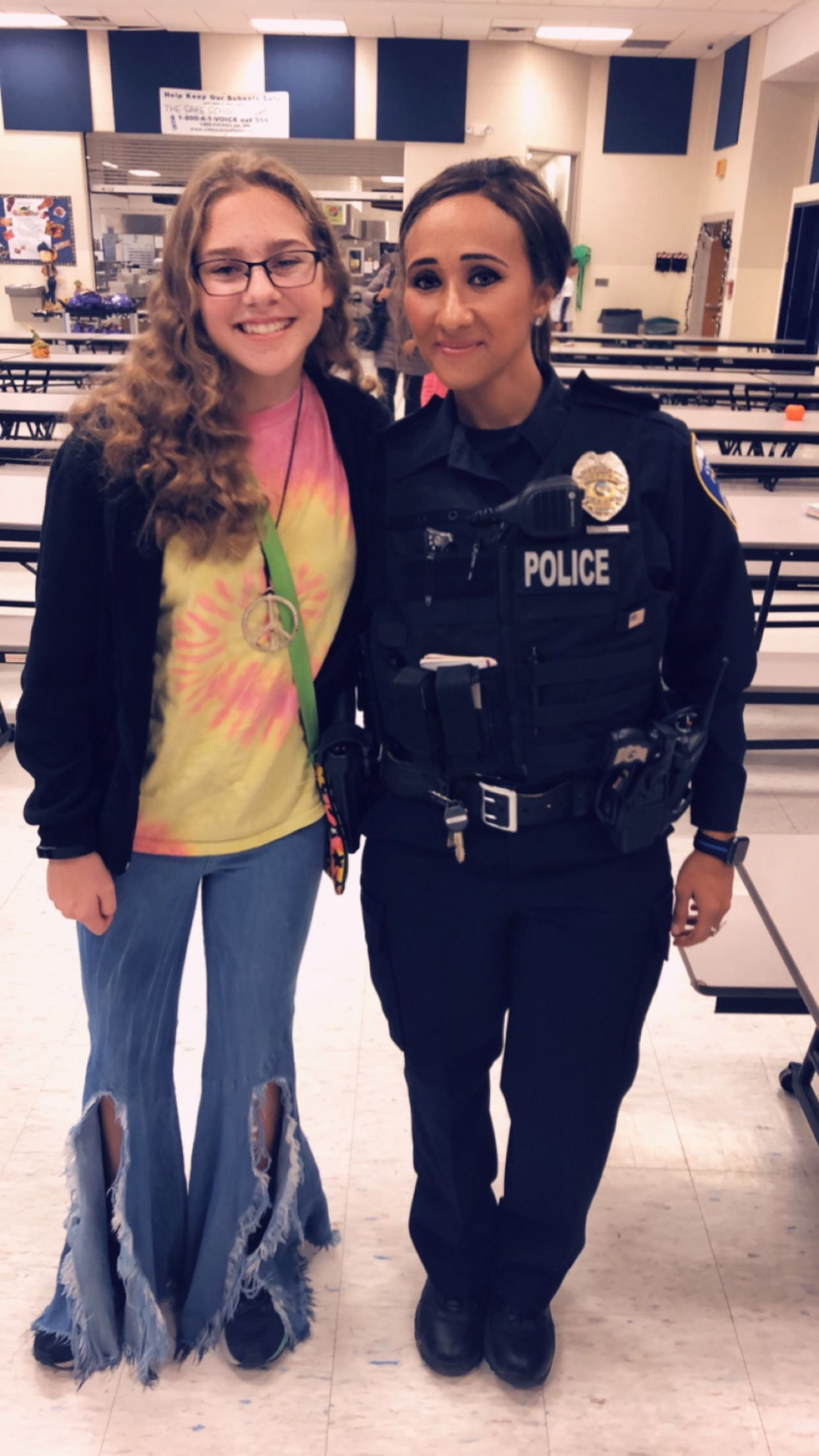 Officer Shendy and Samantha