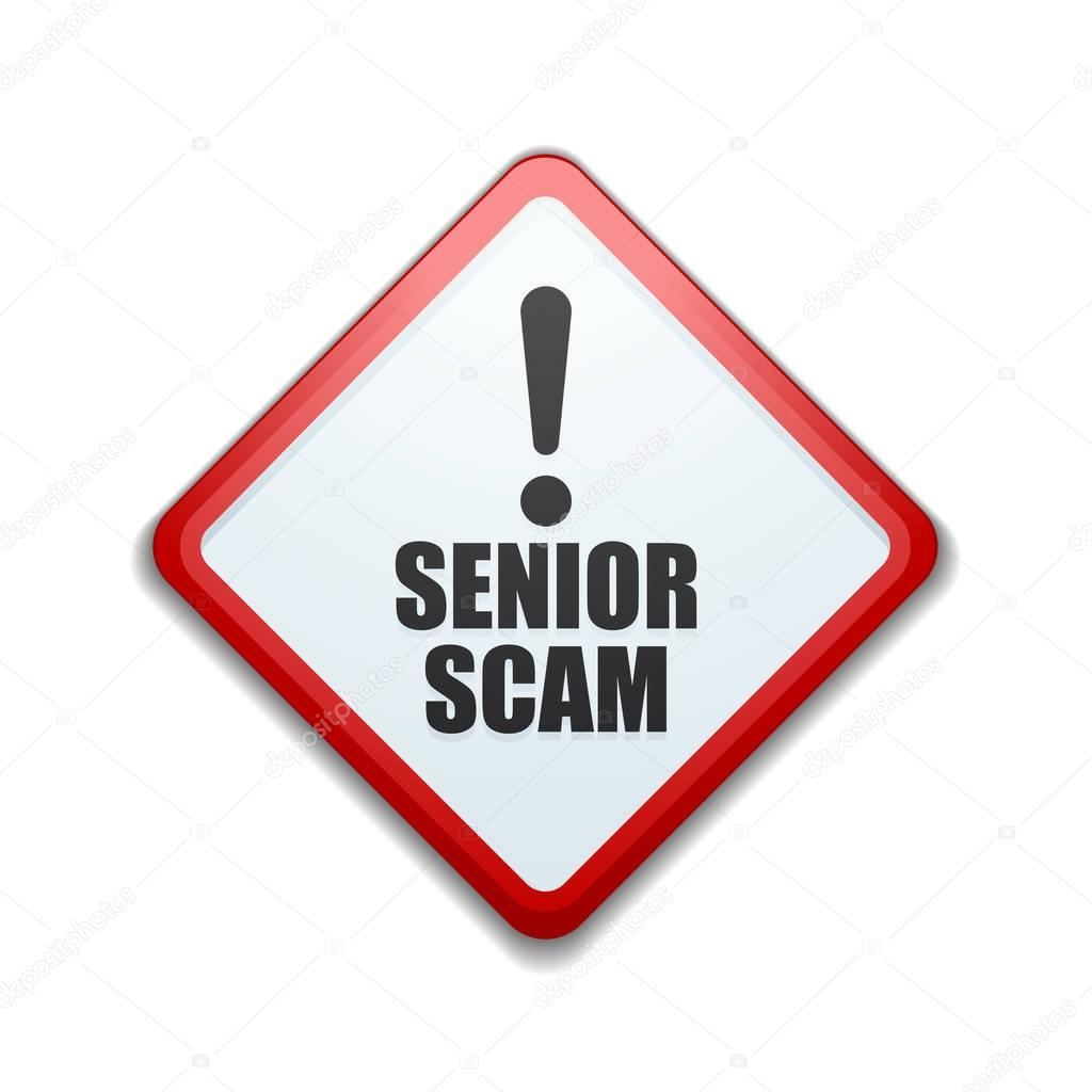 senior scam image